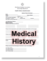 health history questionnaire form