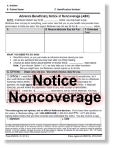 TAKE NOTE: New Medicare ABN Form Required